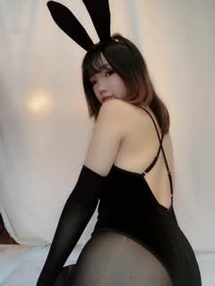 Cosplay8 你的负卿 雪晴Astra - 兔女郎 自撮り